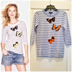 J Crew Collection Tippi Sweater in Monarch